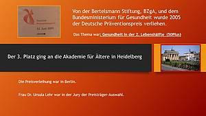 Präventionspreis 2005